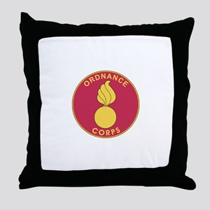 ORDNANCE-CORPS Throw Pillow
